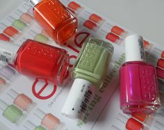 Essie Spring Collection 2012. I got these in the mail last week. Love 'em