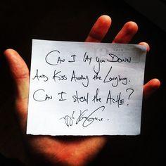 Daily Haiku on Love by Tyler Knott Gregson  Follow me @TylerKnott on Instagram and Twitter.