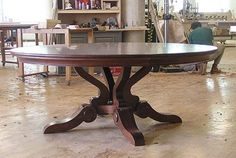 8 person round dining table - Google Search
