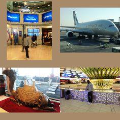 My Transit in Abu Dhabi #YSBH #worldtravel