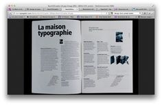 inspiration for layout