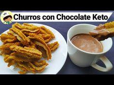 Chocolate con Churros Keto| chocolate a la taza Keto| churros Keto|cetogenicos - YouTube Keto Foods, Keto Snacks, Sin Gluten, Gluten Free, Tortillas, Cake Pops, Low Carb Recipes, Paleo, Ethnic Recipes