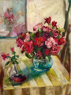 Market roses