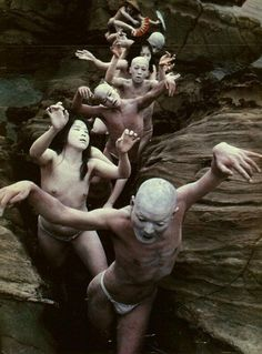 Butoh Dance. It typically involves playful and grotesque...