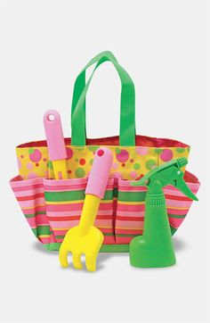 Ordered this for my little outdoorsy girl ~  Melissa & Doug 'Blossom Bright' Gardening Tote available at #Nordstrom