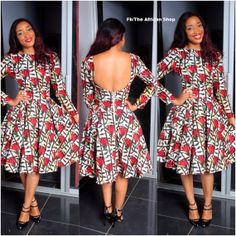 Namodo Dress by THEAFRICANSHOP on Etsy, £60.00