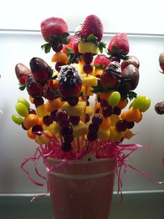 Fruit Arrangement for a Baby Shower.