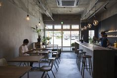 Cheap Home Decorating Ideas Cafe Interior Design, Cafe Design, Interior Design Living Room, Cafe Shop, Cafe Bar, Rooftop Restaurant, Restaurant Design, Japanese Coffee Shop, Traditional Japanese House