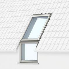 VELUX vast glas-en gevelelement - te combineren met een VELUX dakvenster