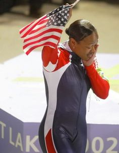 February 19, 2002 Vonetta Flowers became the first black gold medalist in the history of the Winter Olympic Games- inaugural women's two-person bobsled event.