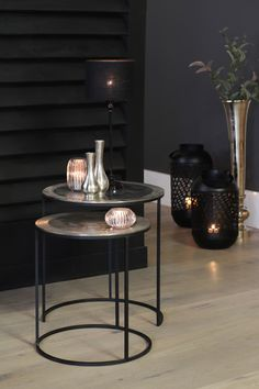 Verlichting - Lilly is Love Natural Interior, Interior Decorating, Interior Design, Easy Paintings, Black Decor, Outdoor Tables, Living Room Decor, Sweet Home, New Homes