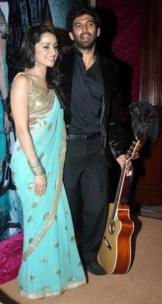 Aditya Roy Kapur and Shraddha Kapoor at 'Aashiqui 2' Movie First Look and Music Launch