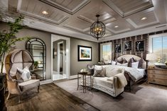 Image result for master bedroom chandelier