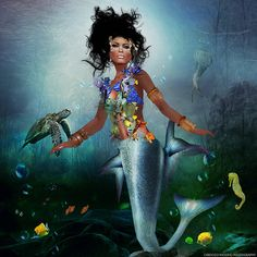 AFRICAN MERMAID FANTASY PICTURES | Recent Photos The Commons Getty Collection Galleries World Map App ...