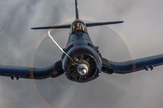 """Chance Vought F4U Corsair aka... Whistling Death 1942-1953. Made famous by WWII Ace Greg """"Pappy"""" Boyington and the TV show Black Sheep Squadron."""