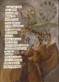 An Intended Widow -2D collage by Dianne Hoffman