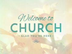 Welcome To Church - Lilies - Graceway Media