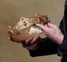 Narnia, Crown Aesthetic, Red Aesthetic, Viking Aesthetic, Crystal Crown, Crystal Rhinestone, Glass Crystal, Male Crown, Kings Crown