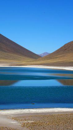 Miñiques lagoon, San Pedro de Atacama, Chile