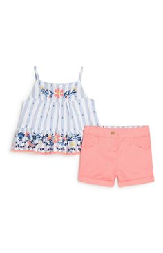 Toddler Kids Baby Girls Clothes Halter Crop Cami Daisy Tank Tops Floral Shorts Bloomers Summer Outfit Set