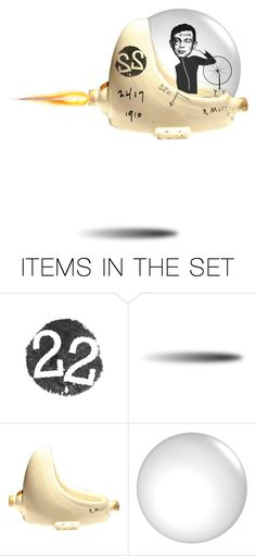 """blastoff"" by jennifer ❤ liked on Polyvore featuring art"