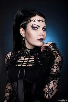 DanaMichele ♡ #Beauty #Gothic