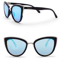 9f04bcebf4 QUAY AUSTRALIA Women s My Girl 55mm Cat Eye Sunglasses