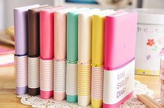 Candy Colors Mini Notebooks