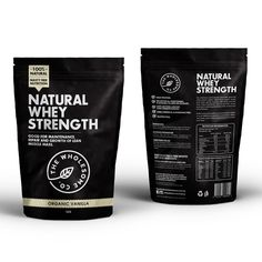 Create an exciting label for our natural protein company! by Advant7