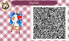 Olaf - Frozen - ACNL - Picture - qr - Broesel