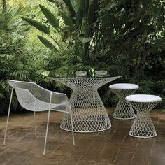 #homeinfatuation.com      #table                    #Metal #Mesh #Glass #Outdoor #Dining #Table #HomeInfatuation.com.             EMU Metal Mesh Glass Outdoor Dining Table at HomeInfatuation.com.                                       http://www.seapai.com/product.aspx?PID=434239