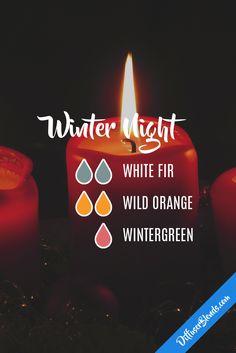 Winter Night Diffuser Blend