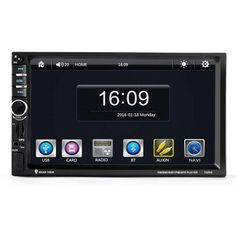 Luxury Car Worlds 7'' HD Bluetooth Touch Screen Car GPS Stereo Radio 2 DIN FM/MP5/MP3/USB/AUX