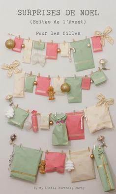 Girly Advent Calendar / Calendrier de l'Avent pour fille (Pour Fille)