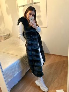 Looking for a Faux Fur Vest? Shop our Faux Fur Vest Made For You With ❤. Our fur vests are only made of artificial fur, supplemented by artificial leather. Long Vests, Artificial Leather, Faux Fur Vests, Really Cool Stuff, Perfect Fit, Fur Coat, Bohemian, Jackets, Shopping