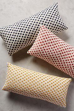 Diamond Dots Pillow - anthropologie.com