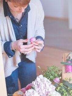 Une décoratrice passionnée ! #hortensia #renoncules #weddingplanner #weddingday