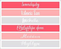 6 pięknych i darmowych dekoracyjnych fontów (czcionek)!