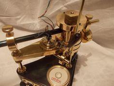 Bezkompromisowy gramofon DIY w etapach. Tonearm Diy. Turntable high end.