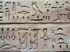 Image illustrative de l'article Écriture hiéroglyphique égyptienne
