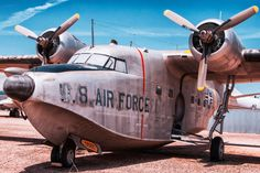 This is a Grumman HU-16A Albatross.