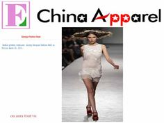 China Apparel  2010 GEORGIAN FASHION WEEK 2010 Fashion Show couture by on aura tout vu