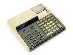 HP-97 Printing Programmable Calculator - My dad had one of these. Some of the first programs I ever wrote were written on this machine.
