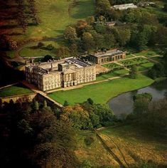"""Lyme Park, England.  There are a number of hauntings including a """"lady in white"""" and an entire funeral procession"""