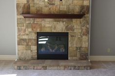 #Fireplace option available at Pine Ridge Homes
