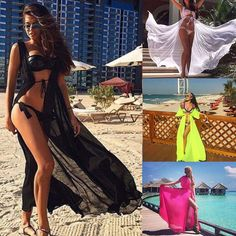 2017 Pareo Beach Cover Up Floral Embroidery Bikini Cover Up Swimwear Women Robe De Plage Beach Cardigan Bathing Suit Cover Ups Vendor: Rocky Pitbull Type: default Price: SIZE CHART Our real photos Swimwear Cover Ups, Bikini Cover Up, Swimsuit Cover Ups, Bikini Swimwear, Lace Bikini, Bikini Set, Bathing Suit Covers, Bathing Suits, Beach Pink