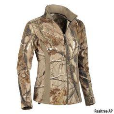 Womens Camo Fleece Jacket $59.99