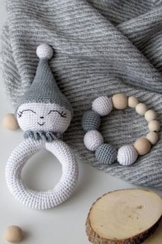 Items similar to Crochet rattle doll baby rattle soft toy eco-friendly non-toxic wood toys Sensory Toy teething ring stuffed wood toy infant gifts for babies on Etsy Crochet Baby Toys, Crochet Patterns Amigurumi, Cute Crochet, Cat Hammock, Baby Rattle, Sensory Toys, Stuffed Toys Patterns, Baby Gifts, Blog