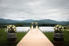 Scenic Pippin Hill Farm Wedding Wedding Real Weddings Photos on WeddingWire