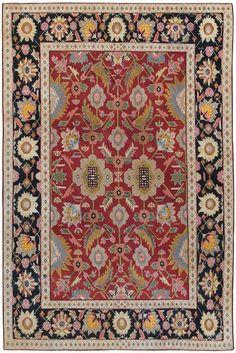 Antique Agra Oriental Rug 44380 - by Nazmiyal